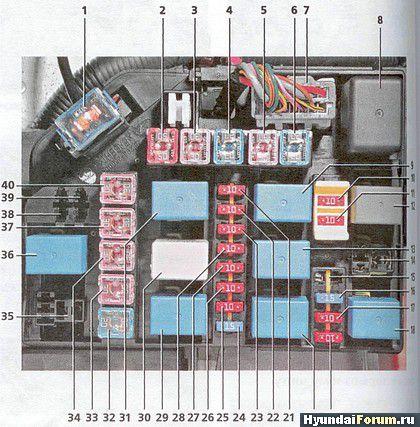 Схема электрическая наружного
