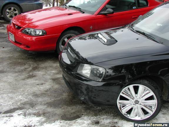 тюнинг Hyundai Accent.